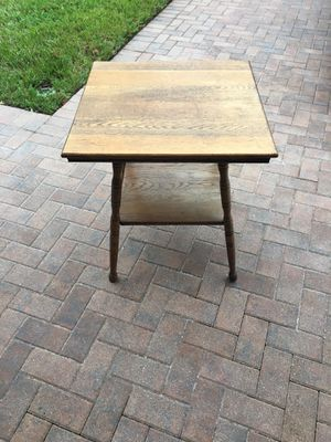 Antique Oak Table for Sale in Palmetto, FL