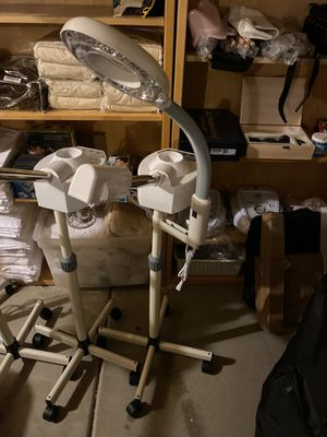 Facial steamer and magnifying lamp for Sale in Glendale, AZ