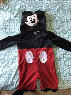 Mickey Mouse costume for 1 year old for Sale in Cumming, GA
