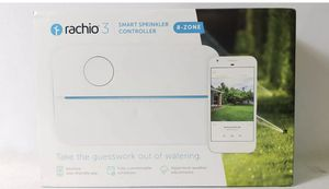 BRAND NEW SEALED Rachio 3 8ZULW-C 3rd Generation 8-Zone Smart Water Sprinkler Controller for Sale in Glendale, CA