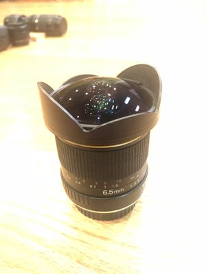 Opteka 6.5mm fisheye for canon for Sale in Concord, CA