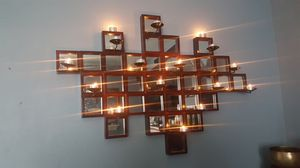 Beautiful Real Wood, Steel and Glass candle Room display for Sale in San Diego, CA