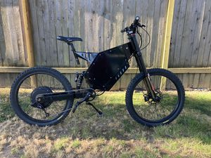 Electric Motorcycle / Bicycle 72v 5000w (Stealth Bomber) for Sale in Mountlake Terrace, WA