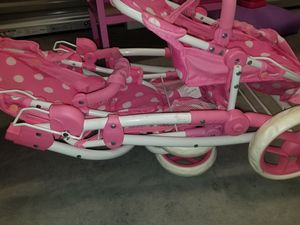 Double seated baby doll stroller for Sale in Virginia Beach, VA