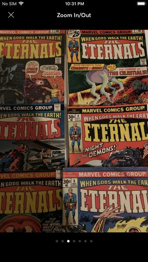 Eternals rare comics 1-6 for Sale in Columbia, MO