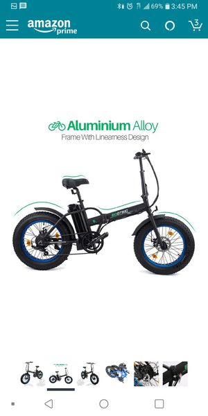 "500w ECOTRIC 20"" Folding Electric Bike for Sale in San Francisco, CA"