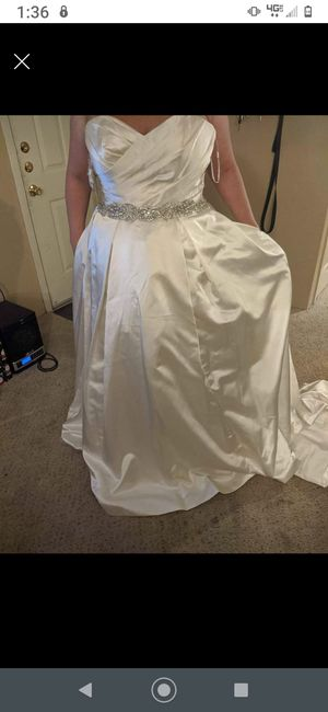 Size 12 Alfred Angelo unused wedding dress for Sale in Cleveland, TX