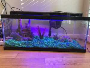 20 Gallon Aquarium with tons of accessories for Sale in Atlanta, GA