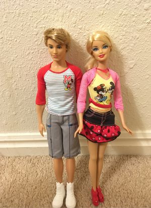 Disney souvenir ken and Barbie for Sale in Orem, UT