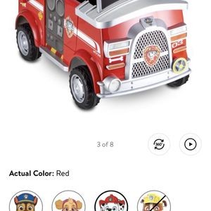 Paw Patrol Marshall Car for Sale in Whittier, CA