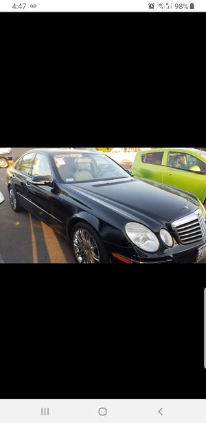 2007 Mercedes Benz E350 v6 clean title and andy for Sale in Fontana, CA