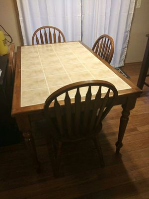Dinner table Wood solid for Sale in Wichita, KS