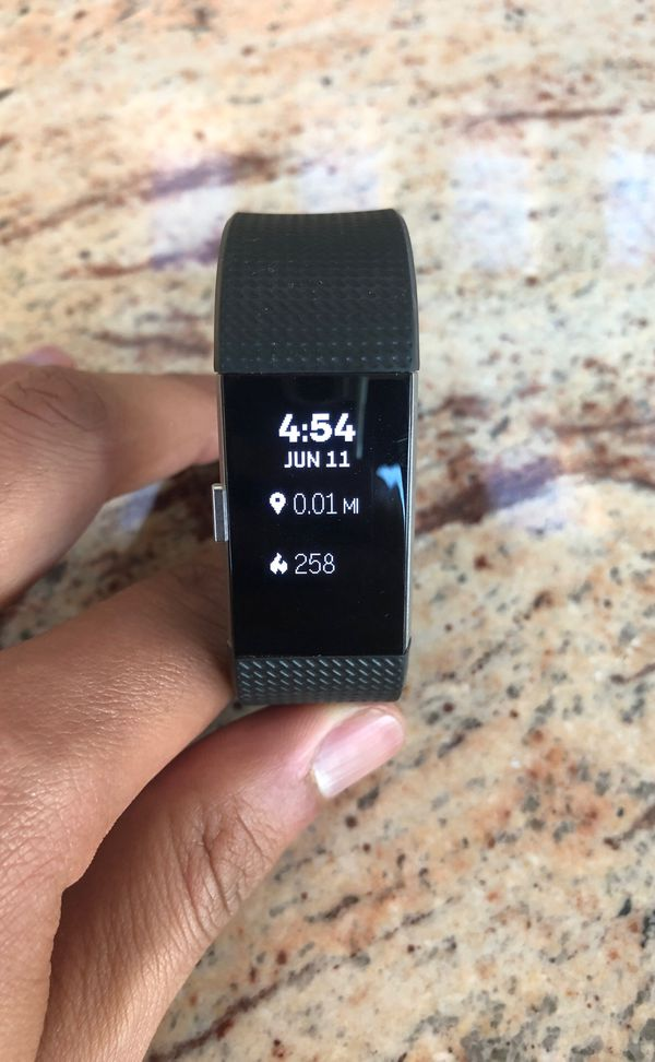 FitBit Charge 2 HR (Black) (Selling ASAP)