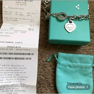 Return to Tiffany's toggle clasp necklace for Sale in Germantown, MD