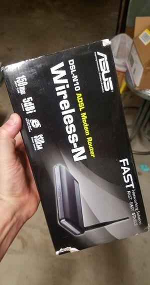 Asus DSL N10 Wireless Fast Modem for Sale in Rancho Santa Margarita, CA