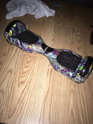 Hover board with Bluetooth and lights for Sale in Humble, TX