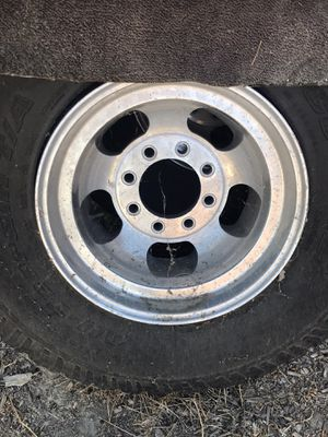 Mag rims 16.5 fit dodge ford Chevy 3/4 ton trucks 60s-90s for Sale in Hemet, CA
