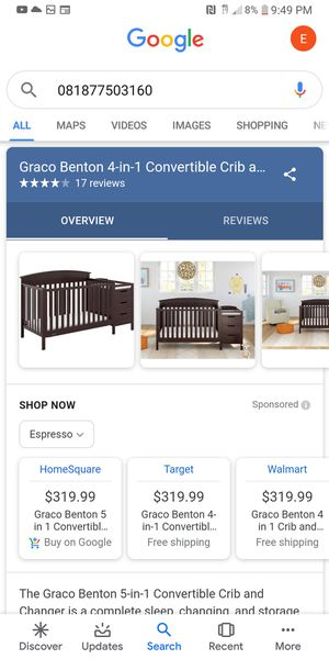 Brand New Crib with Changing Table and Drawers for Sale in Philadelphia, PA