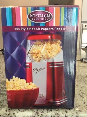 Air popcorn maker for Sale in Howell, MI