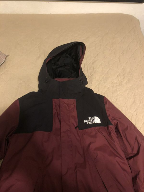 """North face jacket (puff coat and raincoat in one"""""""