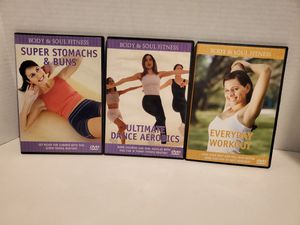 Body and soul fitness dvds for Sale in Rialto, CA