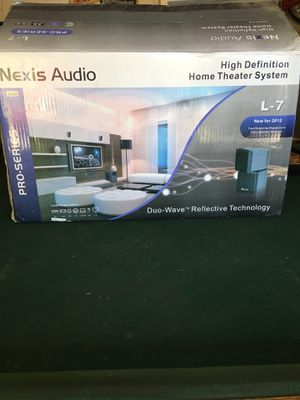 Nexis Audio High Definition Home Theater System. Pro Series L-7 for Sale in Moreno Valley, CA