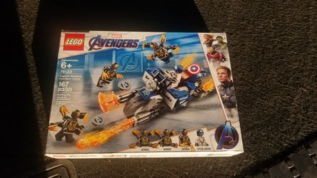 Captain America Lego Set, NEW IN BOX for Sale in San Jose,  CA