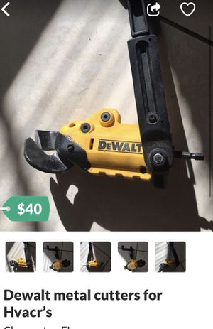 DeWalt metal cutter attachment for Sale in Holiday, FL