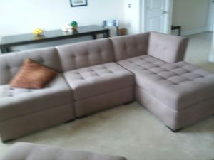 Nice sectional couch . Clean , smoke free for Sale in Temple Hills, MD