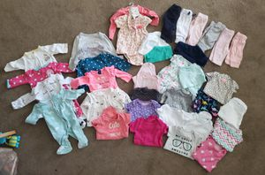 Baby girl clothes NB & sleepers for Sale in Portsmouth, VA