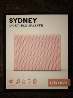 Urbanista Sydney waterproof wireless portable Bluetooth speaker rose gold *BRAND NEW IN BOX! for Sale in Tulare, CA