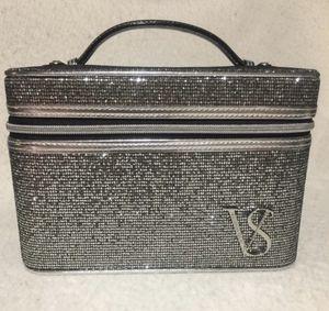 Victoria Secret Silver Sparkle Vanity Makeup Case for Sale in New York, NY