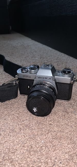 Yashica ii film camera for Sale in North Bethesda, MD