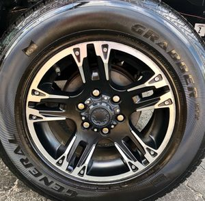 "Tacoma XSP-X 17"" rims and tires for Sale in Cape Coral, FL"