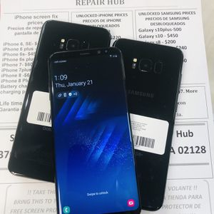 Samsung Galaxy s8plus, 64 gb unlocked for Sale in Somerville, MA