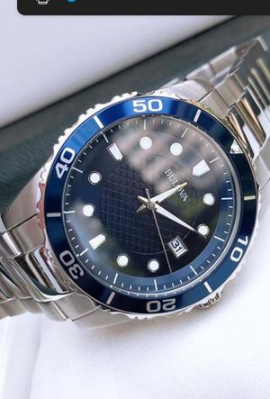 new men's bulova watch new authentic for Sale in San Gabriel, CA