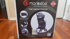 Monbébé cube compact stroller for Sale in Vienna, VA