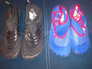beach shoes, new were not used, for women size 9/10, for men 9/10 are new. for Sale in Whittier, CA