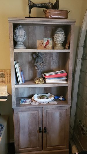 4 gray bookshelves for Sale in Georgetown, TX