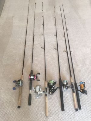 Fishing rods and reels combo for Sale in Queens, NY