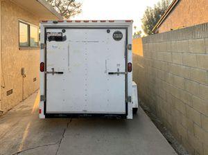 Wells Cargo 12 foot trailer with drop door and side door. New costs $6,800 for Sale in Long Beach, CA
