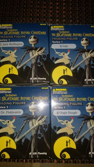 Nightmare Before Christmas Figures for Sale in Bell Gardens, CA