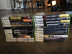 Lot of 22 Xbox 360 Games for Sale in Los Angeles, CA