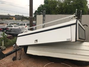Camper w professional carrier bracket side doors with key for Sale in Oklahoma City, OK
