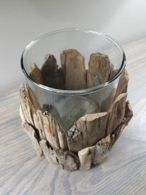 Home Decor Wood Candle Holder for Sale in Jackson Township, NJ