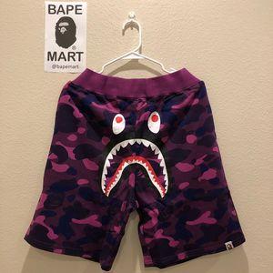 Bape shark shorts camo purple (fits like medium/large) for Sale in Los Angeles, CA