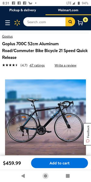 Goplus road bike for Sale in Brandon, FL