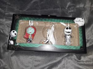 Hallmark Nightmare Before Christmas NBC ornaments set of 3 celebrate 25 years for Sale in Miami, FL