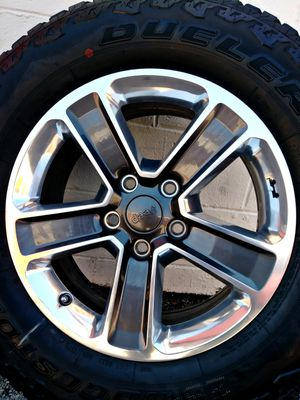 2020 JEEP WRANGLER RIMS 50th ANNIVERSARY EDITION & 5 BRAND NEW TIRES ____ 0 MILES for Sale in Houston, TX