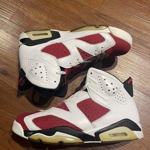 Nike Air Jordan Carmine 6s Size 10 for Sale in Lantana, FL